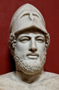 Pericles statue