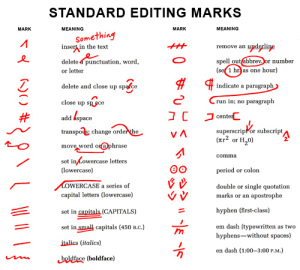 proofing-marks