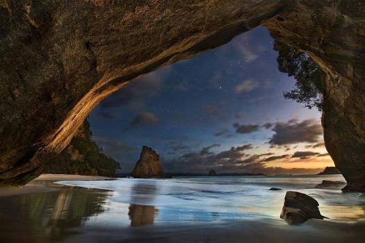 cathedralCove_New Zealand_Yan Zhang