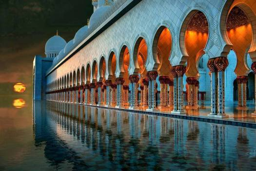sunset_GrandMosque_AbuDhabi