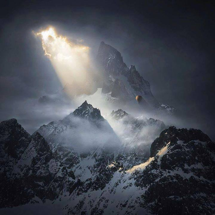 To the Threshold of Silence, by Karezoid Michal Karcz