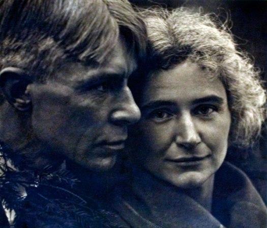 Carl and Lilian Steichen Sandburg