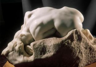 Danaid by August Rodin