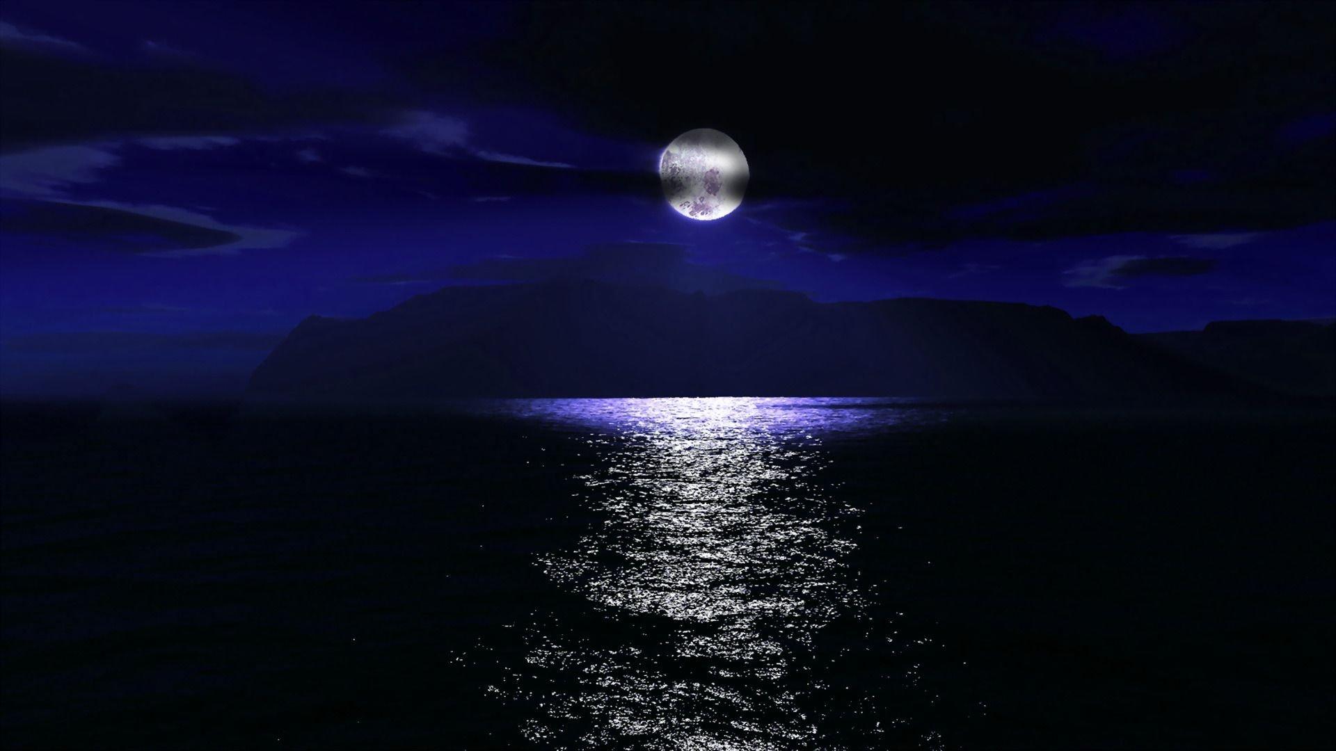 night-sky-moon-cloud-sea-ocean
