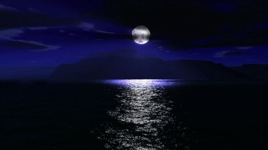 night-sky-moon-cloud-sea-ocean