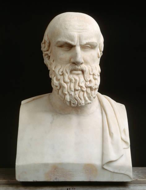 Bust of Aeschylus  (Photo by Araldo de Luca/Corbis via Getty Images)